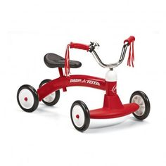 Tricycle Scoot About Rouge  Radio Flyer