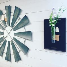 Magnolia Home by Joanna Gaines accessories are here. I'm in love with the rain gage plaque. All with the Magnolia Home brass tag. #shopping #roanoke #farmhousedecor #interiordecor #MagnoliaHome #windmill #forsale