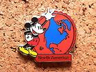 Mickey North America Disney Pin - Hidden Mickey Series - Continent Collection #EasyNip