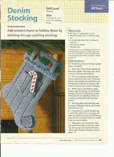Denim stocking 1/2