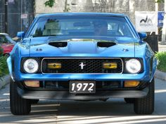 1972 Ford Mustang Mach 1 Fastback (JAck Snell)