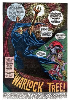 """Chamber of Darkness #3  Marvel Comics   """"The Warlock Tree"""" Dave scoffs at the legend of a tree, cursed by a dying warlock, until the curse strikes close to his heart. Written by Gerry Conway (TV's Law & Order) with art by Barry (Windsor-) Smith (Opus 1 & 2) & Syd Shores (Captain America.) Barry Smith coming into his own!  http://beachbumcomics.blogspot.com/"""