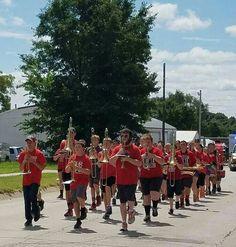 Stewartsville band . David is 2nd row, middle...8-6-16