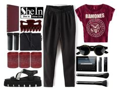 """""""#Ramones - Poison Heart"""" by credentovideos ❤ liked on Polyvore featuring H&M, Energizer, Pieces, NARS Cosmetics and Marc Jacobs"""