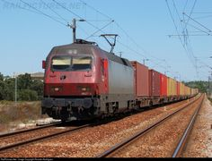 RailPictures.Net Photo: CP 5627 Caminhos de Ferro Portugueses Siemens Eurosprinter at Setúbal, Portugal by Ricardo Rodrigues