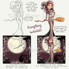 Zelina - Digital Stamp
