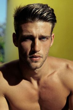 Heath Hutchins, Blue Eyed Men, Great Haircuts, Le Male, Thing 1, Guy Pictures, Interesting Faces, Male Beauty, Gorgeous Men