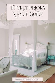 French bedroom goals with bright and light vibe. Bonaparte bed from French bedroom company Wedding Venues Uk, Beautiful Wedding Venues, Wedding Ceremonies, Destination Weddings, Wedding Blog, Antique Beds, Wedding Planning Tips, Victorian Homes, French Antiques