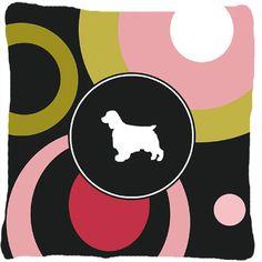 Welsh Springer Spaniel Indoor/Outdoor Throw Pillow