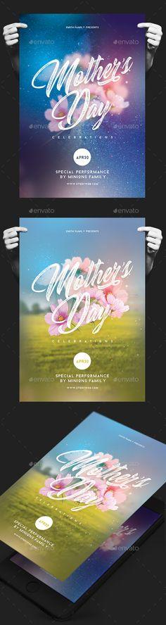 Happy Motheru0027s Day Flyer Happy mothers day, Mothers and Flyer - mothers day flyer