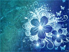 wallpaper | Description: Blue Flower HD Wallpaper is Wallapers for pc desktop ...