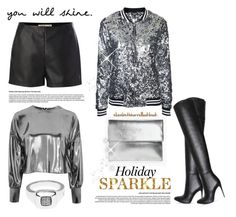 """HOLIDAY STYLE"" by elizabethhorrell ❤ liked on Polyvore featuring Label Lab, Boohoo, Topshop and Lagos"