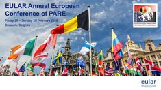 EULAR Annual European Conference of PARE 2018 (s)