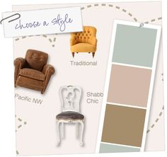 This is the BEST site ever... if you're trying to find paint colors, room style, etc.