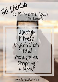 Top 15 Favorite Apps