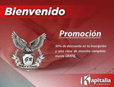 Kapitalia y GR MMA & Fitness se unen para ofrecerte los mejores beneficios y promociones para ti qué eres socio Kapitalia.  A partir de ahora obtén 50% de descuento en tu Inscripción y una clase de muestra GRATIS.  ¡Disfruta de tu beneficio!  Visítanos en Calle Valparaiso #12 Col. Buena Vista Sur.  Minatitlán.  #BienveniadoALaFamiliaKapitalia #KapitalizandoMéxico #SocioPlataforma Informes 9211432679