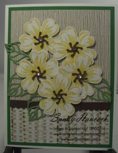 Flower Shop with Serene Scenery (UdderlyAwesome Stamping From The Heart) Hat Tutorial, Flower Patch, Flower Center, Stamping Up Cards, Pansies, Serenity, Stampin Up, Scenery, Happy Birthday