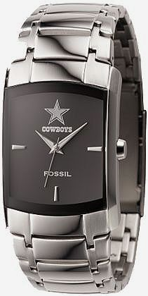 Dallas Cowboys Watches For Men | Dallas Cowboys Watch Fossil Mens Dress Regis wristwatch NFL1161 New ...