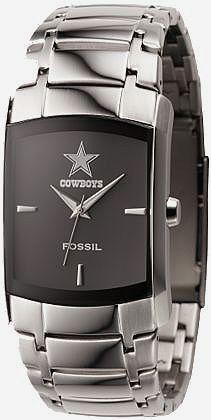 Dallas Cowboys Watches For Men | Dallas Cowboys Watch Fossil Mens Dress Regis wristwatch NFL1161 New ...