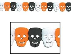 Add props and cutouts to place around the venue or place on top of backdrop! #partycheap #Halloween #cheap