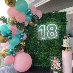 Throw the most spectacular milestone birthday and enter adulthood in style with these 7 perfect birthday party ideas! Check them out! Birthday Event Ideas, 18th Birthday Party Themes, Simple Birthday Decorations, Balloon Decorations Party, Birthday Crafts, 90th Birthday, Birthday Quotes, Birthday Backdrop, Birthday Balloons