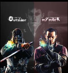 I like Daud (as a character) more. Possibly because Corvo is a silent protagonist with no real personality.