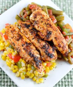 Cajun Blackened Chicken is a quick and easy slightly spicy chicken dish that is loaded with flavor that the family will love.