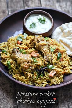 Chicken Biryani Recipe, Step by Step in Pressure Cooker - a wonderful recipe from my favorite blogger - cooking and me