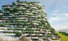 Öko-Architektur: In China entsteht ein atemberaubendes grünes Hotel