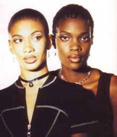 Zhané (pronounced Jah-Nay), American R&B/hip hop soul duo (Jean Norris and Renee Neufville) and part of Queen Latifah's Flavor Unit collective. Their hits include Hey Mr. DJ, Groove Thang, Sending My Love, Request Line (featuring Queen Latifah), Vibe, La La La, You're Sorry Now and Shame (from A Low Down Dirty Shame movie soundtrack). They also peformed on records with Naughty By Nature, De La Soul, Busta Rhymes and appeared on the Panther movie soundtrack.