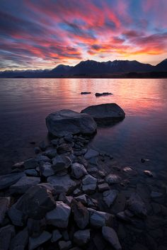 Lake Tekapo Sunrise (New Zealand) by Luke Austin Lake Tekapo, Seen, South Island, Out Of This World, Lake View, Oh The Places You'll Go, New Zealand, Sunrise, Scenery