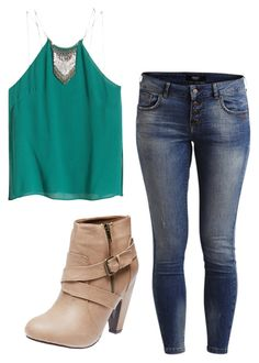 """""""Untitled #136"""" by maddy-hatter11 on Polyvore featuring H&M, Object Collectors Item and Wet Seal"""