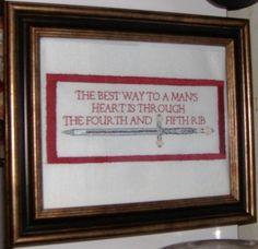 The best way to a man's heart http://ibeebz.com