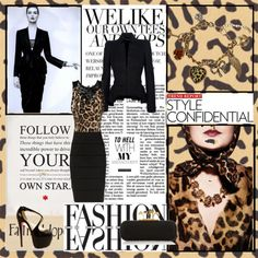 """Leopard"" by roz-harman on Polyvore"