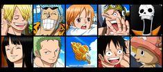 One Piece | Strong World | Roronoa Zoro | Nami | Vinsmoke Sanji | Usopp | Monkey D Luffy | Tony Tony Chopper | Nico Robin | Franky | Brook | Mugiwaras | Straw Hat Crew | Equipage du Chapeau de Paille by SergiART.deviantart.com on @DeviantArt
