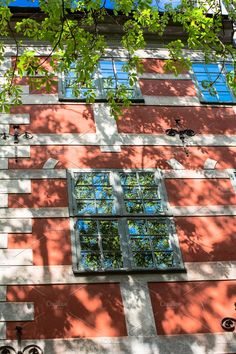 windows of the old house by Stavrida on @creativemarket