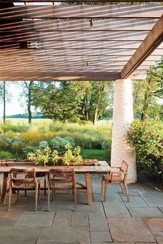 shaded serenity: from Garden Design magazine - photo by Rob Cardillo