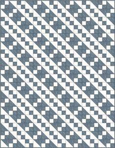 Projeto quilt Escada de Jacó, variação 2 bloco