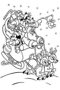 Mickey Mouse coloring page