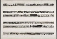 Maquette for Every Building on the Sunset Strip - Ed Ruscha