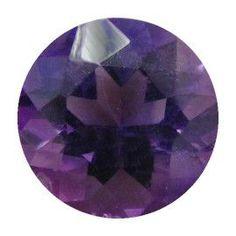 2.19 ct Round Amethyst Deep Darkish Purple -Gold Crane & Co.