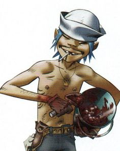 Here is a place where I will post all of the official Gorillaz art. I claim none of this art and it is all created by Jamie Hewlett. I will NOT be posting any fan art (including edits). Damon Albarn, Tank Girl, Jamie Hewlett Art, 2d And Noodle, Monster Museum, Russel Hobbs, Monkeys Band, Gorillaz Art, Demon Days