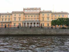 The Menshikov Palace in Saint Petersburg...