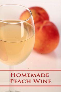 Homemade Peach Wine Recipe! Homemade Peach Wine Recipe, Homemade Wine, How Much Sugar, Sweet Wine, Alcohol Content, Mead, Wine Making, Home Brewing, Wine Recipes