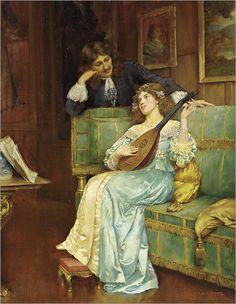 William Arthur Breakspeare (1855 - 1914) - A musical interlude