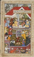 -This is the manuscript of the Memoirs of Babur (ruled 1526-30), founder of the Mughal dynasty.  British Library