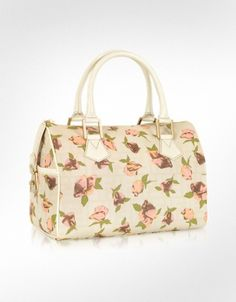Fendi  Rose Chef Zucca Canvas Medium Satchel Bag