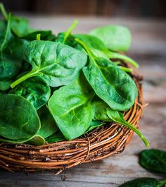 #Spinach...This green vegetable is well known for being rich in iron, but it actually contains more than 75% of your #daily need in #vitamin A in only 100 g.