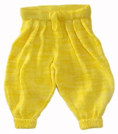 U Can't Touch This Baby Harem Pants knitting by TheatreOfYarns, $7.00