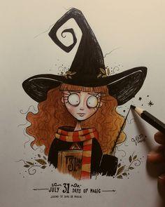 Artists Draw Hermione Granger in their own style Harry Potter Kunst, Tim Burton Stil Zeichnung Harry Potter Kunst, Arte Do Harry Potter, Harry Potter Drawings, Tim Burton Drawings Style, Tim Burton Art Style, Tim Burton Sketches, Arte Tim Burton, Tim Burton Kunst, Tim Burton Characters